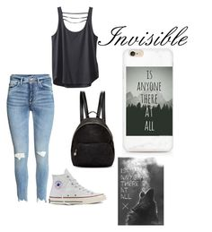 """""""Anyone there? I'm Invisible"""" by ashtonsgirl-5soslover on Polyvore featuring Converse, Kavu and STELLA McCARTNEY"""