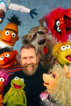 [Jim Henson's Muppets] Once upon a time… and long before Disney ruined the Muppets (and Star Wars, and Pixar…), master blaster Jim Henson struck studio stardust coupling a self-absorbed Hollywood hopeful with a swampy banjo picker. Sesame Street Muppets, Fraggle Rock, Miss Piggy, Kermit The Frog, Classic Tv, Childhood Memories, My Idol, The Dreamers, Nerd