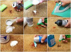 10 Homemade Carpet Cleaning Tricks