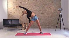 Sophia hat jede Woche eine neue Trainingseinheit für die Kandidaten, mit unterschiedlichen, super effektiven Übungen - gleich selbst ausprobieren!