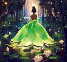 """um casamento verde e com música? Porque não o tema """" A princesa e o sapo"""" disney weddings. Noivinhas da disney Greenery"""
