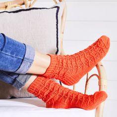 Wool Socks, Knitting Socks, Yarn Projects, Leg Warmers, High Socks, Legs, Diy, Knits, Challenge