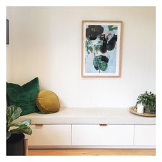 Cosy Corner, Entryway Bench, Living Room, Sage, Mustard, Furniture, Green, Home Decor, Instagram