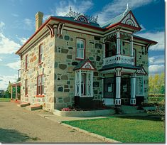 The Motherwell Homestead near Abernathy, Saskatchewan Cool Countries, Countries Of The World, Places To Travel, Places To Visit, Beautiful Vacation Spots, Old Stone Houses, Saskatchewan Canada, Stone Cottages, Parks Canada