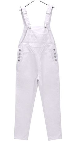 ddc7879a86 High quality Painters White Bib Pants,Cotton Bib-Work Overalls,men's work  pants