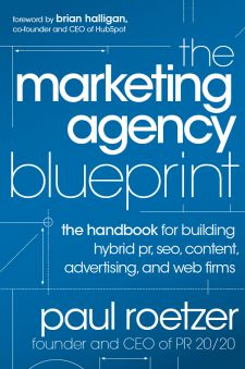 The Marketing Agency Blueprint by Paul Roetzer