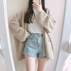 clothes fashion kfashion korean fashion style street style cute kawaii soft pastel aesthetic outfit inspiration elegant skinny fashionable spring autumn winter cozy comfy clothing r o s i e Korean Girl Fashion, Korean Fashion Trends, Korean Street Fashion, Fashion Mode, Korea Fashion, Ulzzang Fashion Summer, Fashion Spring, Korean Fashion Casual, 70s Fashion