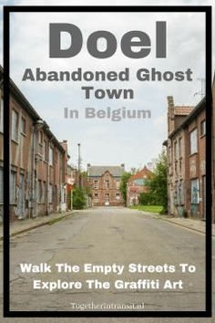 Visit the abandoned ghost town Doel in Belgium before it becomes part of the Antwerp Harbour. Europe Travel Guide, Europe Destinations, Amazing Destinations, Travel Guides, European Vacation, European Travel, Cool Places To Visit, Places To Travel, Visit Belgium