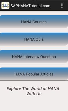 97 Best SAP HANA Tutorial images in 2016 | Hana, Clouds