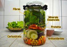 Salada no Pote: Nutricionista ensina como fazer a MELHOR! | SOS Solteiros