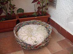 pestrofarebný pelíšek