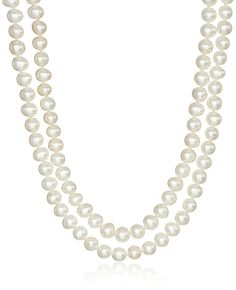 Honora Endless Rope Chinese Freshwater Cultured Pearl Strand Necklace (5-6mm) * Want additional info? Click on the image. (This is an affiliate link and I receive a commission for the sales)