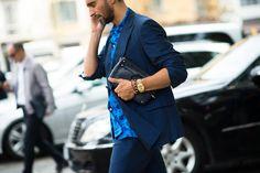Milan Men's Fashion Week Spring 2015: See the Best Street Style Looks Photos | W Magazine