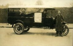 A Birmingham Post newspaper delivery van.