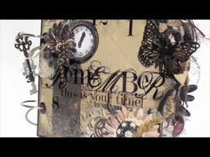 ▶ Scrapbooking 'Remember This is Your Time' Mini Album (BM DT Project).m4v - YouTube