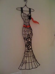 This is a beautiful pattern - I am going to try similar with wire