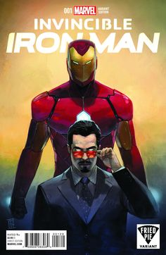 Invincible Iron Man #1  Publisher: Marvel Release Date: 10/7/15 Cover Artist: Alex Maleev