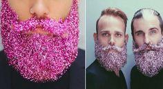 Τα μούσια με glitter είναι η νέα μόδα που βάζει τους άντρες απευθείας στο πνεύμα των Χριστουγέννων