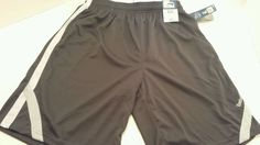 Mens REEBOK athletic basketball grey white running shorts NEW   #Reebok #Shorts