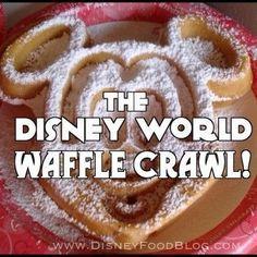 Disney World Waffle Crawl