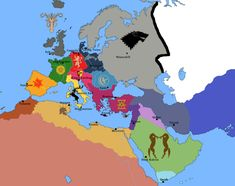 If Westeros were Europe: Game of Thrones - GeographicMind