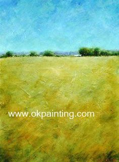 Hand-painted Abstract Landscape oil paintings for wholesale