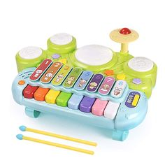 MzekiR Toy Musical Instruments for Toddlers - 3 in 1 Kids Piano Keyboard Xylophone Drum Set ** Continue to the product at the image link. (This is an affiliate link) Musical Instruments For Toddlers, Toy Musical Instruments, Toddler Girl Gifts, Toddler Toys, Kids Toys, Baby Musical Toys, Kids Piano, Toys For 1 Year Old, Cleaning Toys