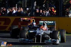 Michael Schumacher, Mercedes Grand Prix, 2012 Australian Formula 1 Grand Prix, Formula 1