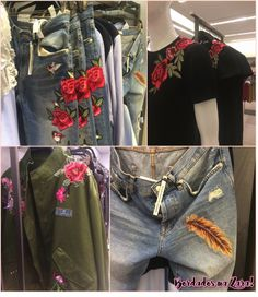 Fique de olho: Bordado no jeans! - Fashionismo