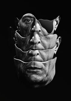 Arnold Schoenberg / Quartet Art Print