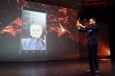 Apresentado por Jack Ma, o sistema usa reconhecimento facial para finalizar compras feitas pela internet