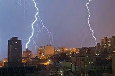 Tormenta eléctrica en Comodoro Rivadavia