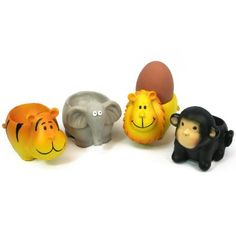 Black Ginger Egg Cup - Monkey