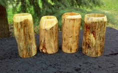 Wooden Beer Mug, Cupping Set, Cold Drinks, Food Grade, Whisky, Medieval, Drinking, Etsy Shop, Stock Photos