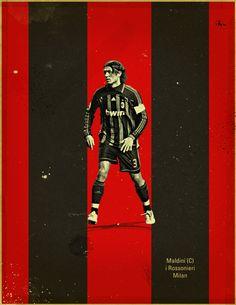 Famous Footballers by Jon Rogers, via Behance
