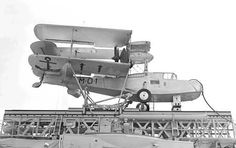 "Supermarine Walrus: Argentine Navy Walrus MK-IV on board cruiser ""La Argentina"", San Francisco, 1940 Amphibious Aircraft, Ww2 Aircraft, Royal Australian Air Force, Float Plane, Airplane Design, Flying Boat, Aircraft Photos, Military Helicopter, Royal Air Force"