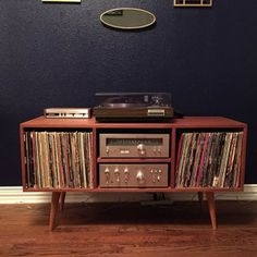 Lovely Built In Stereo Cabinet Plans
