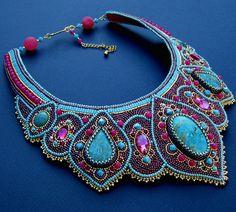 Beautiful jewelry with blue Sediment Jasper | Beads Magic