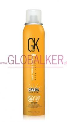 GK Hair Dry Oil Shine Spray 115ml. Global Keratin Juvexin