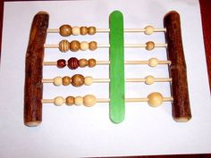 a great post on how to make a abcus using branches and skewers and then how to use it for a waldorf second grade block  groups.yahoo.com/... you have to cut and paste the link for it to work it seems