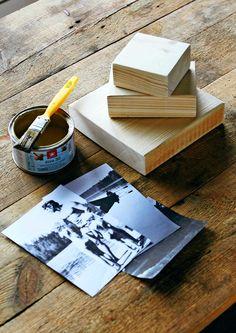 Tee rakkaista muistoista tauluja   Meillä kotona