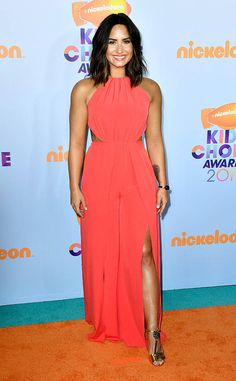 Demi Lovato from Kids' Choice Awards 2017: Red Carpet Arrivals  What's wrong with being confident? Nothing at all, if you ask this brunette beauty.
