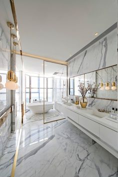 Bathroom in China by Kelly Hoppen Interiors