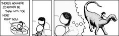 xkcd dinosaur | ... NOWHERE? For starters, there are like a thousand species of dinosaur