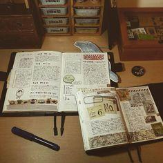 2連休初日は雨☔  #手帳 #ほぼ日 #ほぼ日手帳 #ほぼ日手帳カズン #万年筆 #fountainpen