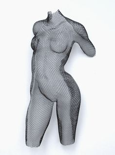 Wire Mesh, Devant, mild steel mesh, 42hx20wx10d cms