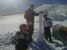 Mi family en Valgrande-Pajares. Temporada 2012-13.