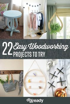 22 Easy Woodworking Projects