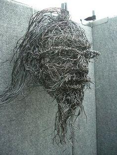 43 Draht Kunst Skulpturen bereit, Ihren Raum