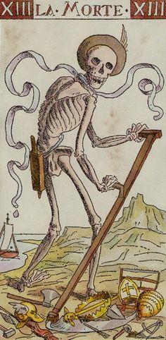 XIII. Death - Tarot of the Master by Giovanni Vacchetta